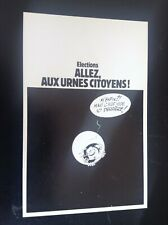 carte postale  Gaston Lagaffe Franquin 1981 TTBE