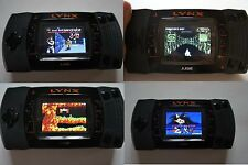 atari lynx  2 with new led screen (mint)