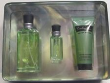 Lucky You by Lucky Brand Men 3 Pcs Set 3.4 oz Cologne Spray + .5 Cologne + Gel