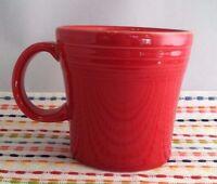 Fiestaware Scarlet Tapered Mug Fiesta Red 15 oz Bistro Mug