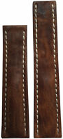 22x18 XL RIOS1931 for Panatime Aged Brn Vintage Watch Strap For Breitling Deply