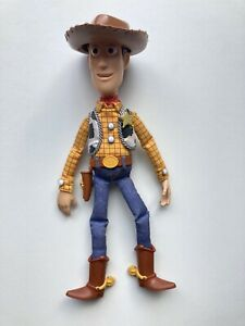 """Toy Story Pixar Thinkway Toys Pull String Talking Woody 14"""""""