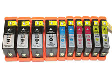 10Pack New 150XL Fit Ink Cartridges For Lexmark 150 XL  Pro 915 S515 S315 Pro715