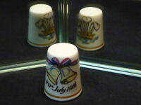 Marriage of Charles & Diana 29 July 1981 Royal Worcester Fine Bone China Thimble
