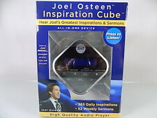 NEW~JOEL OSTEEN~INSPIRATION CUBE~DAILY SERMONS&AFFIRMATIONS~DIGITAL AUDIO DEVICE