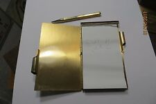 pencil lock flip open pocket note pad advertising Equitable reserve association