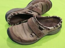 Merrell Mule Shoes Sz 8.5 Womens Slip On Mary Jane Encore Echo Bungee Casual