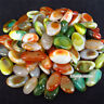 100g Natural Colorful Mixed Tumbled Agate Crystal Bulk Mix  Assorted Gem Stone