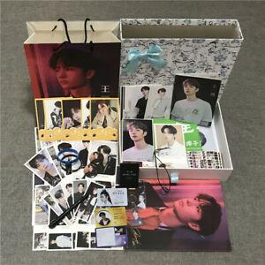 Wang Yibo Lanwangji Photo Album Gift Package Poster Postcard Birthday Gift