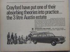 1970 Crayford Austin 3-litre Estate Original advert