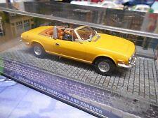 TRIUMPH Stag gelb Roadster James Bond 007 Diamonds Filmauto IXO Altaya SP 1:43