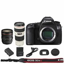 Canon EOS 5DSR / 5DS R Body + 24-70mm IS USM + 70-200mm USM F/4L Lens Kit
