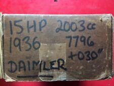 1936 Daimler 15 2003cc Pistons.