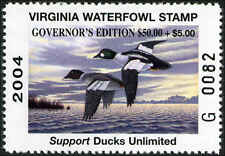 VIRGINIA  2004 GOVERNOR Edition A  scarce stamp Not many in collections. Mint NH