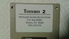 Kurzweil ~ TEXTURES 2 ~ 1 Disk of 100 Krz / V.A.S.T. Programs!!!