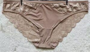 BNWT M&S Size 24 Bikini Knickers in Nutmeg. RRP £8
