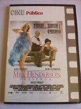 MRS HENDERSON - CINE PUBLICO - DVD - 110 MIN - SLIMCASE - NEW - STEPHEN FREARS