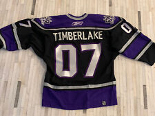 2007 Los Angeles Kings Hockey Authentic Game Jersey Gifted To Justin Timberlake