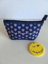 Marc By Marc Jacobs Makeup Bag, Mirror and MBMJ Japan Lookbook Lot Of 3