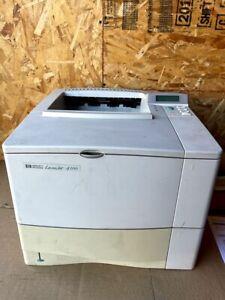 HP LASERJET 4100 NETWORK PRINTER
