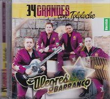 Los Alegres del Barranco 34 Grandes Con Tololoche 2CD New Nuevo Sealed