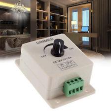 12V 24V 8A Switch Dimmer Brightness Controller Power Save for LED Strip Light