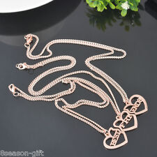 1Set/3PCS Fashion Best Friends Forever BFF Pendant Necklace Friendship Jewelry