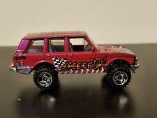 Hot Wheels 1989 Land Rover Vroom! Screeeech! Mattel Made in Malaysia