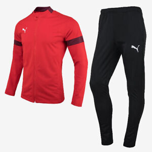 Puma 65647101 Men Tracksuit FtbIplay Jacket Pants red