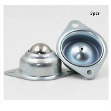 5pcs Steel Swivel Castor Wheels Trolley Furniture Caster Roller Ball 40mm