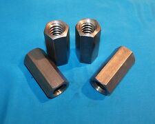 "3/4-6 acme coupling nuts 4-pack steel 1"" hex x 2.25 long right hand"