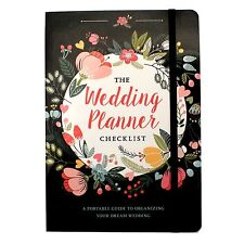 Wedding Planner Engagement Gift Bridal Organizer Diary Book Journal Checklist