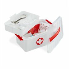 10x Erste Hilfe Siegel Verbandskasten Prüfsiegel Kontrollsiegel 25x45mm selbstkl