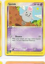 SPOINK - 73/97 – Pokemon – Ex Dragon  - NM - Buy more and save!