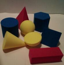 Geometrical Foam Figures - (Lot of 12)