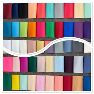 60 Colours High Quality Dull Duchess Bridal Satin Fabric Bridal Dress Material