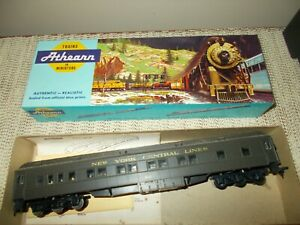 ATHEARN 1862-3  STANDARD PULLMAN CAR, NY CENTRAL RR, EXCELLENT PREBUILT KIT