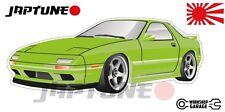 Mazda-RX-7-series-4   - Lime with Standard Rims - JDM - JapTune Brand