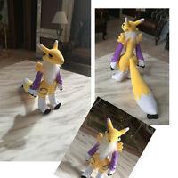 Digital Monster Digimon Doll Yellow Tamers Renamon Magic Fox Plush Doll Toy Gift