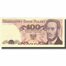 [#801064] Banknot, Polska, 100 Zlotych, 1982, 1982-06-01, KM:143d, UNC(64)