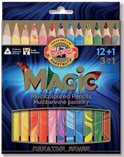 Koh-i-noor Crayons multicolores triangulaire