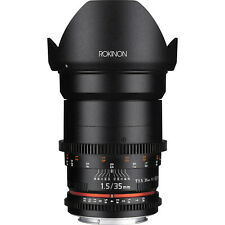 Rokinon Cine DS 35mm T1.5 Full Frame Cine Lens for Sony E-Mount | Brand-New