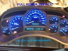 Repair Service 03-06 Gm Escalade Denali Speedometer Gauge Cluster w Led 04 05