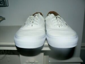 MENS LEATHER VANS TRAINERS UK SIZE 7