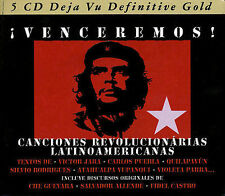 NEW Venceremos! Canciones Revolucionarias Latinoamericanas (Audio CD)