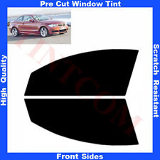 Pre Cut Window Tint BMW 1series E82 Coupe 2Doors 2007-2012 Front Sides Any Shade