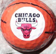 (1) Chicago Bulls Nba Basketball Logo Golf Ball
