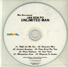 (CI816) Jan Ken Po, Unlimited Man - 2011 DJ CD