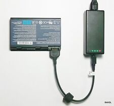External Laptop Battery Charger for Acer TravelMate 5520 5720 7520 7720, GRAPE32