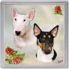 Bull Terrier Dog Coaster No 1 by Starprint